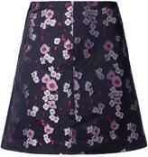 G.V.G.V. floral jacquard A-line skirt