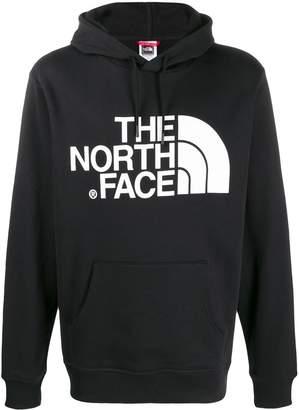 The North Face logo-print hooded sweatshirt