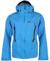 Millet Mens Dryedge GTX 3L Jacket Top Coat Full Zip Chin Guard Adjustable Cuffs