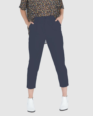 Privilege Elise Relaxed Tapered Pants