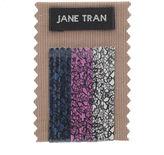 Jane Tran Lace Print Bobby Pin Set, Small 1 set