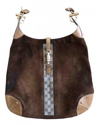 Gucci Jackie Camel Pony-style calfskin Handbags