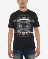 Sean John Men's Zebra Pyramid Graphic-Print T-Shirt, Created for Macy's