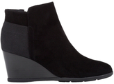 Geox Inspiration Wedge Heeled Ankle Boots, Black