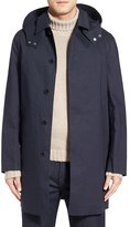 MACKINTOSH Men's Waterproof Long Coat With Detachable Hood