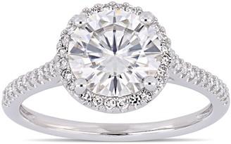 Stella Grace 2 ct. T.W. Lab-Created Moissanite & 1/4 ct. T.W. Diamond Engagement Ring