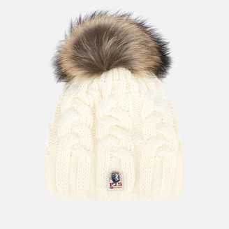 Parajumpers Women's Cable Hat - Off White