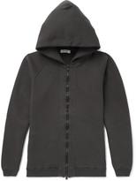 Nonnative - Coach Over-dyed Fleece-back Cotton-jersey Zip-up Hoodie