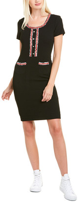 Karl Lagerfeld Paris Crepe Sheath Dress