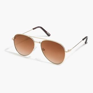 J.Crew Aviator sunglasses