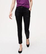 LOFT Zip Skinny Utility Pants in Julie Fit