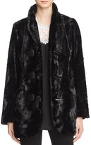 Karen Kane Faux Fur Toggle Jacket - 100% Exclusive