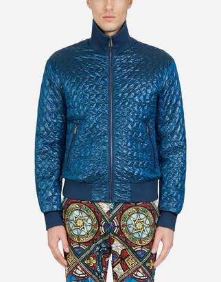 Dolce & Gabbana Quilted Nylon Jacket