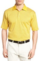 Bobby Jones Men's Dot Stripe Golf Polo