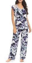 Midnight by Carole Hochman Women's Long Pajamas