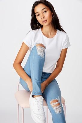 Supre Short Leg Super Skinny Ripped Jean