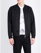 Kenzo Monogram-print Shell Jacket