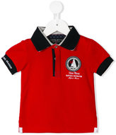 Lapin House - nautical patch polo shirt - kids - Cotton/Tactel - 2 yrs