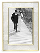 Reed & Barton Mother-of-Pearl Gold Frame, 5 x 7