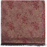 Dorothy Perkins Womens Wine Floral Jacquard Scarf- Red