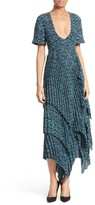 A.L.C. Women's Kylia Pleated Silk Midi Dress