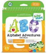 Leapfrog LeapStart Preschool Activity Book: Alphabet Adventures & Music