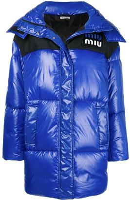Miu Miu Oversized Puffer Jacket