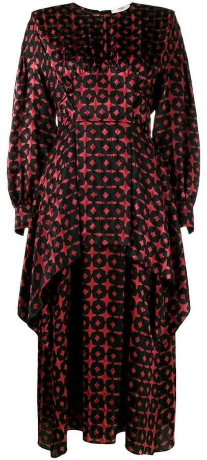 2d2c17b93ea Fendi Black Long Sleeve Dresses - ShopStyle