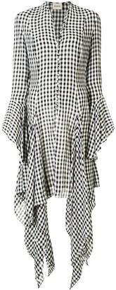 KHAITE The Laura gingham dress