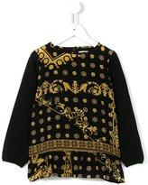Versace 'Majolica' print blouse