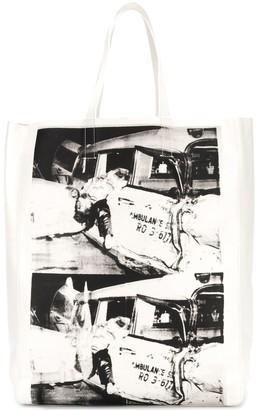Calvin Klein x Andy Warhol printed tote bag