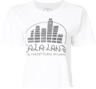 Local Authority La La Land cropped T-shirt