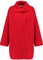 Diane von Furstenberg Avril Oversized Wool, Cashmere And Angora-Blend Coat