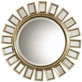 Uttermost Cyrus Round Beveled Wall Mirror
