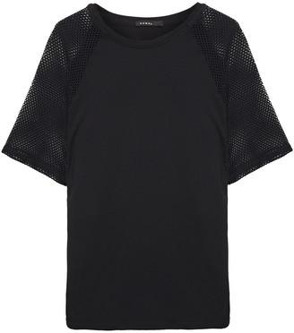 Koral Mesh-paneled Stretch-jersey T-shirt