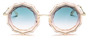 Chloé Women's Caite Round Sunglasses, 52mm