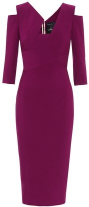 Roland Mouret Exclusive to Mytheresa Kiverton crepe midi dress