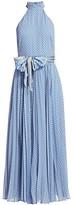 Zimmermann Super 8 Polka-Dot Halterneck Maxi Dress