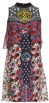 Mary Katrantzou Valentina floral silk dress