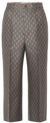 Gucci GG jacquard pants