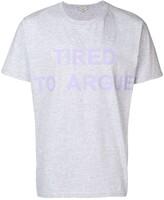 Natasha Zinko oversized Tired to Argue T-shirt