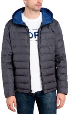 Michael Kors Men's Down Blend Puffer Jacket, Created for Macy's