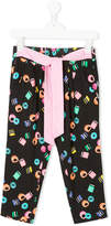 Little Marc Jacobs donuts print lounge trousers