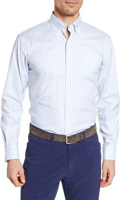 Peter Millar Caspian Stripe Button-Down Shirt