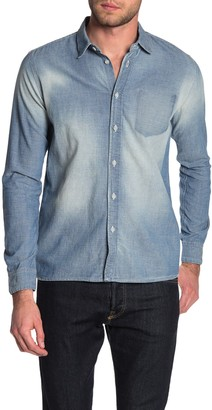 Nudie Jeans Henry Worn Chambray Shirt