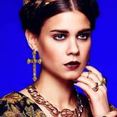 N. ROCK 'N ROSE Rebekah Vintage Art Deco Cross Earrings