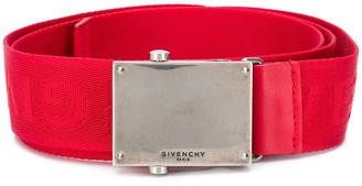 Givenchy Logo Plaque Belt