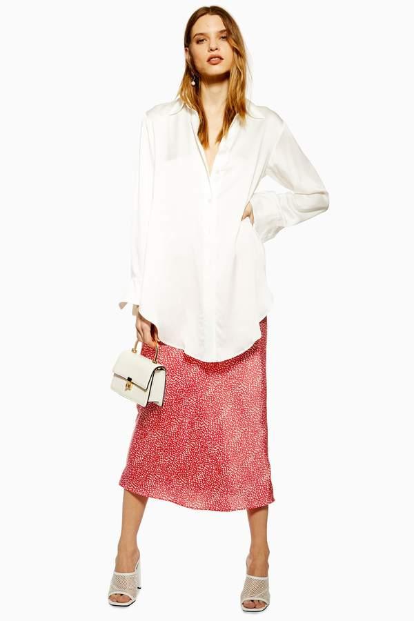 589348fe5c Print Skirt Topshop - ShopStyle UK