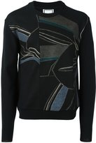 Wooyoungmi printed panel jumper