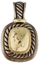 David Yurman Two-Tone Albion Enhancer Pendant